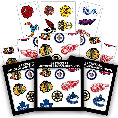 Nhl Sticker Sheet - 2