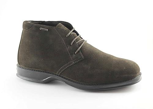 IGI & CO 66813 café hombre luciendo zapatos de gamuza botines cordones 45