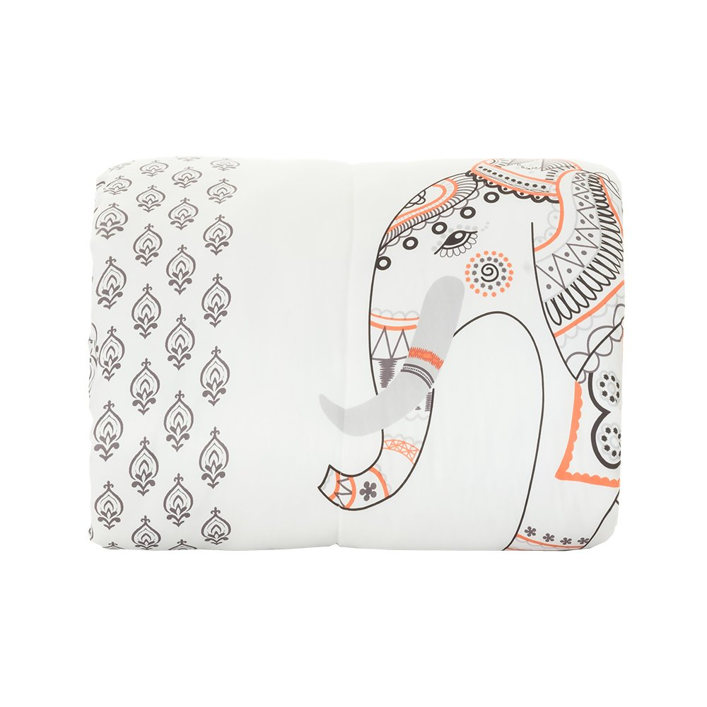 Campus Linens Elephant Twin XL Comforter for College Dorm Bedding
