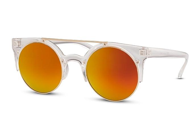 Cheapass Gafas de Sol Transparentes Redondas Lentes ...