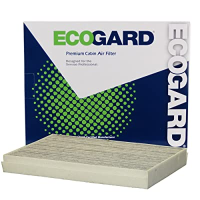 EcoGard XC10575C Premium Cabin Air Filter with Activated Carbon Odor Eliminator Fits Mercedes-Benz Metris 2016-2020, 2500, Sprinter 3500 Diesel 2020: Automotive