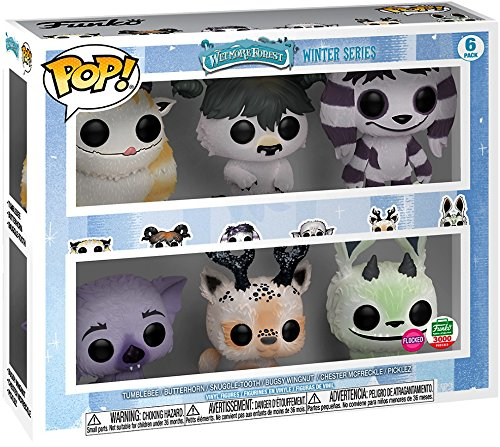 Wetmore Forest Funko POP! Monsters Exclusive Vinyl Figure 6-Pack [12 Days of Christmas] - Exclusive Monster Series
