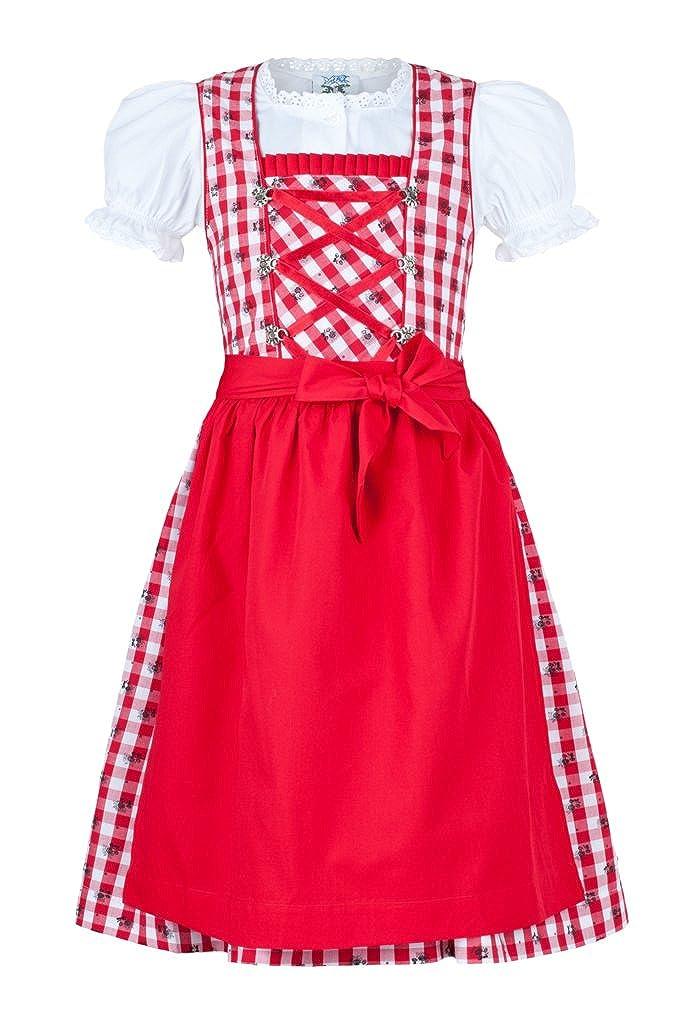 Traje típico tirolés para niña de Isartrachten, cuadros en ...