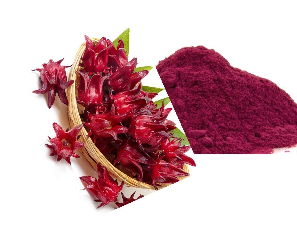 Iya Foods Dried Hibiscus Flower Powder 4oz 1 Pack Amazon