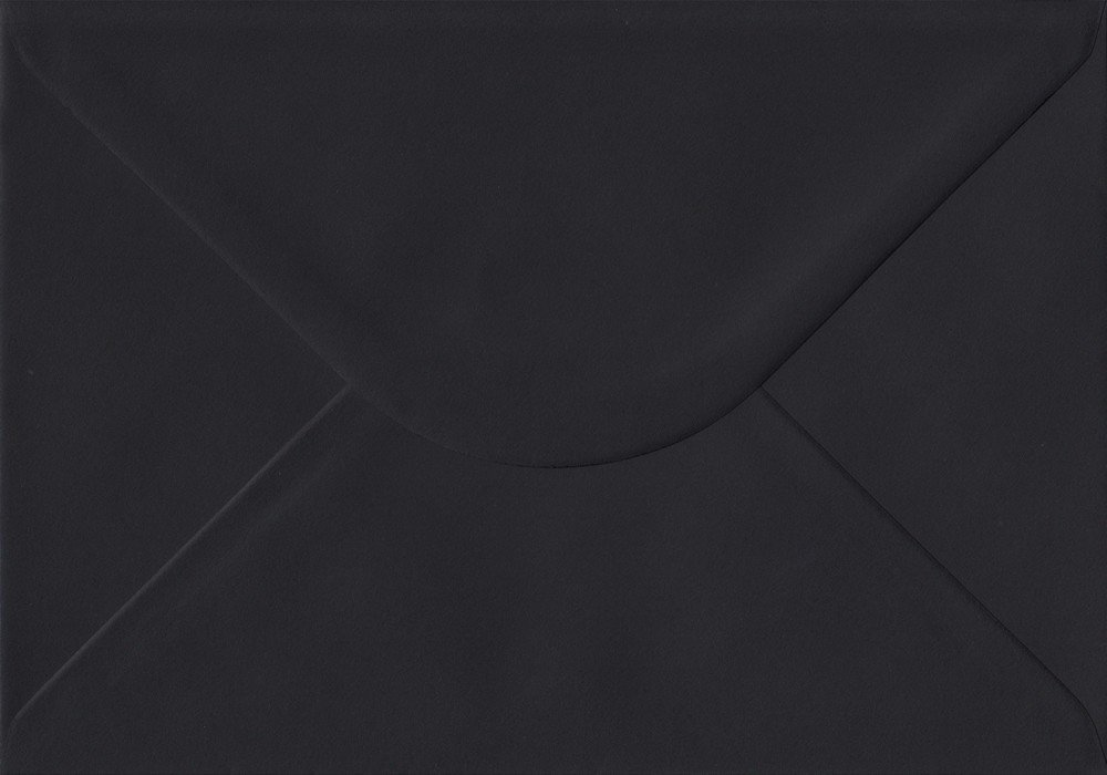 Colour Craft Premier Envelopes - Confezione da 50 buste gommate C5,162 x 229 mm, 100 g/m², colore: nero Premier Envelopes UK