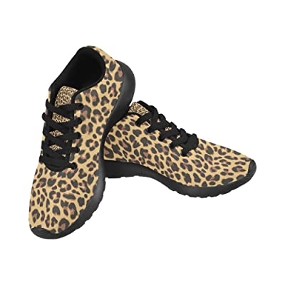 Graphic Leopard Pattern Print on Women's Running Shoes | Road Running