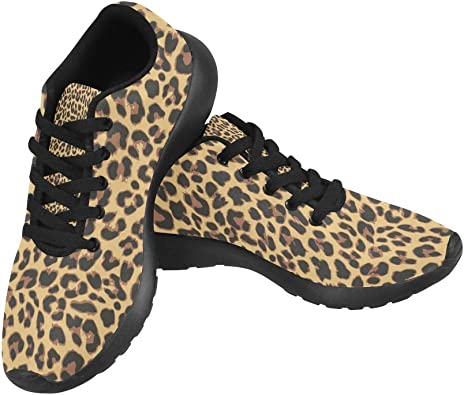 Graphic Leopard Pattern Print