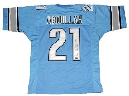 best service f1c0b 75500 Ameer Abdullah Autographed Jersey - #21 Coa - Autographed ...