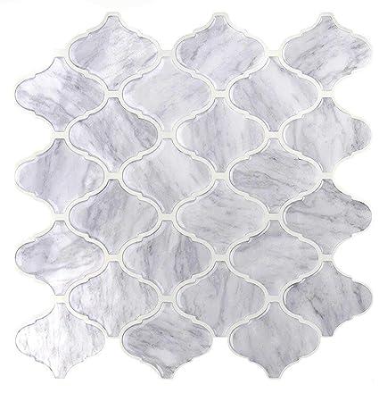 Vamos Tile Premium Anti Moho Peel y Stick azulejo Backsplash, autoadhesivas azulejos de pared para