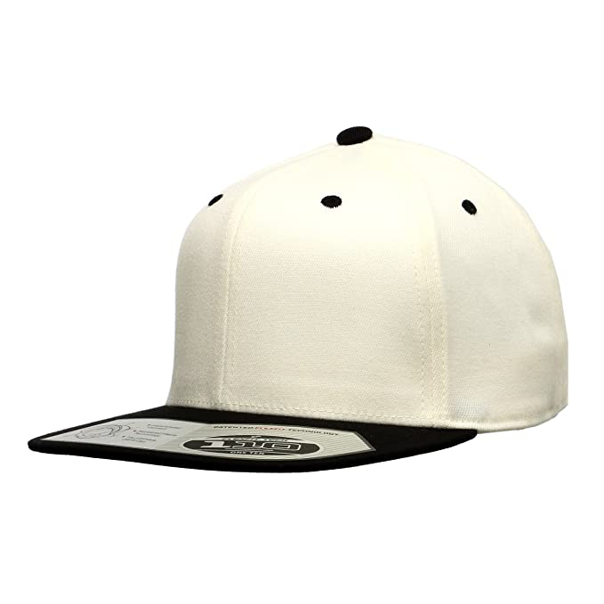 f9a9618098774 Image Unavailable. Image not available for. Color  Premium Blank Flexfit  Yupoong 110F Wool Blend Solid Snapback Cap ...