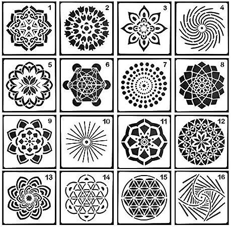 Mandalas Zeichnen Ideen Fur Verschiedene