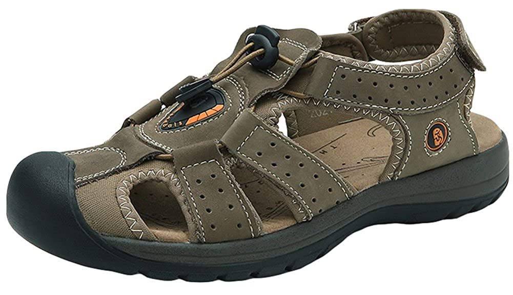 fd54ace5fc088 AGOWOO Womens Fisherman Sandals Outdoor Beach Hiking Sandles