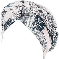TININNA Bomull tryckt turban mössa blommig muslimsk huvudduk mössa kemo hatt keps huvud halsduk för cancer håravfall