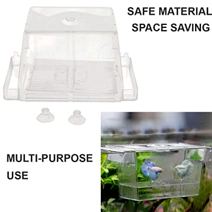 Fish & Aquariums Pet Supplies Acrylic Fish Breeding Isolation Box Fish Tank Aquarium Incubator Fish Hatching