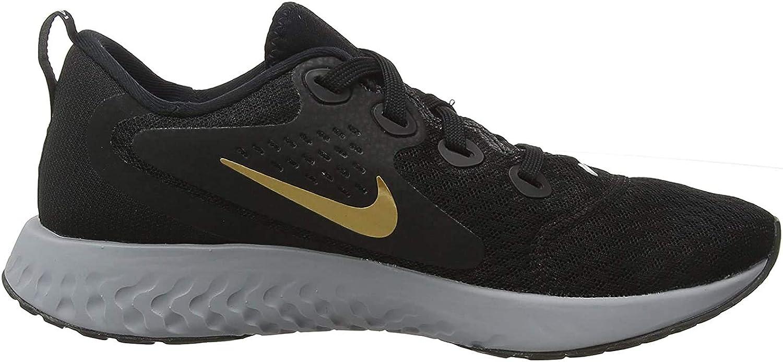 Nike Wmns Legend React - Zapatillas de Running para Mujer, Color Negro, (Black Metallic Gold Atmosphere), 37 EU: Amazon.es: Zapatos y complementos