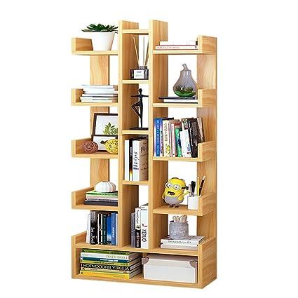 Bookcases Creative Bookshelf Racks Living Room Simple Multifunctional Student Multi Layer Color