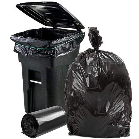 Amazon.com: Plástico 64-65 galones de forro para cubo de ...