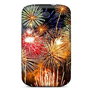 Top Quality Protection Fireworks Case Cover For Galaxy S3