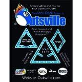 Accu-Rack Outsville Billiards Template Set (Solo, Diamond 9 and Pro 10)