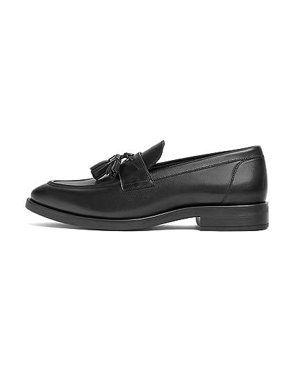 47f0c2875b0 Zara Men s Smart Tassel Loafers 2600 002 Black  Amazon.co.uk  Shoes ...