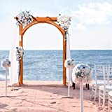 Yaheetech 85in Wood Arbor Arch Wedding Arches for