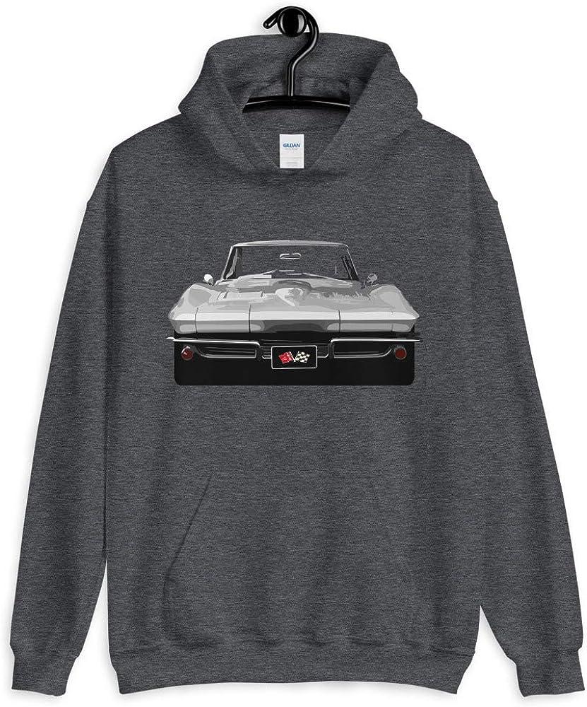 JG Infinite 1963 Chevy Corvette Stingray Unisex Hoodie