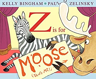book cover of Z Is for Moose
