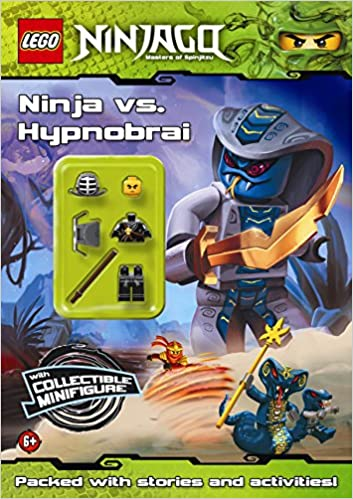 Lego Ninjago Ninja Vs Hypnobrai Activity Book Aa Vv 9781409313038