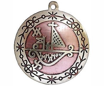 Talisman Voodoo Charms Amulet Pendant Loa Agwe Hist Travel