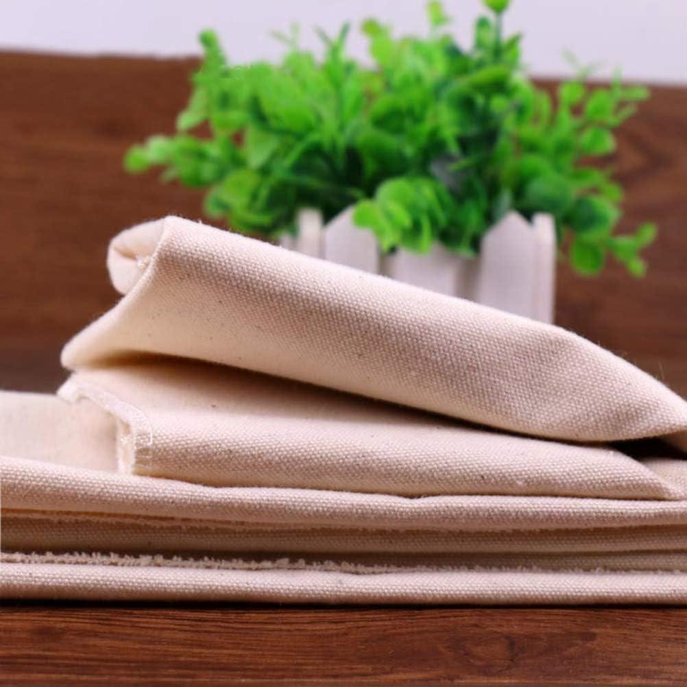 Bestonzon Bakers Couche professionale Fermentato panno di cotone pasta di pane tappetino da forno pane francese Baguettes pagnotte 45/x 36/cm