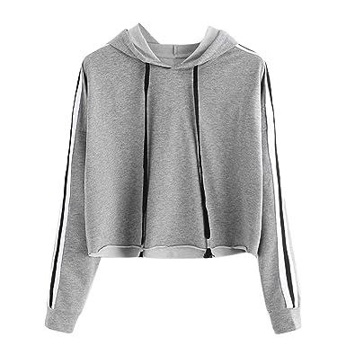 Dimanul Hooded Sweatshirt Women Long Sleeve Pullover Sexy Teen Girls Crop Top New Blouse Fashion Shirt