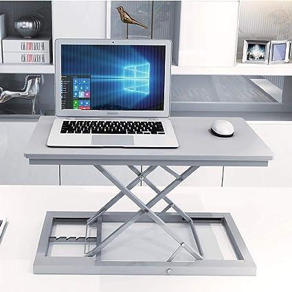 Scrivania pieghevole da computer 100x60cm Studio pieghevole//per casa//per ufficio tavolo da pranzo,White