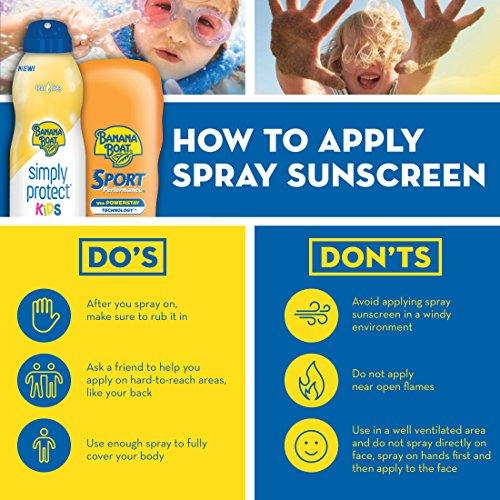 Banana Boat Sunscreen Kids Broad Spectrum Sun Care Sunscreen Stick - SPF 50 (Pack of 4) by Banana Boat (Image #6)