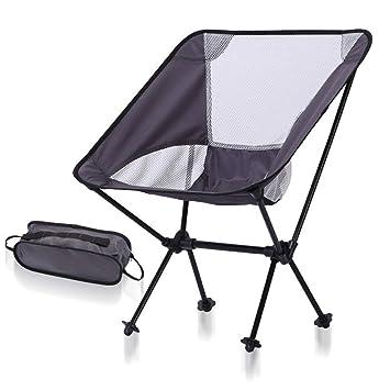 DE Faltbarer Stuhl Faltbar Klappstuhl Camping Wandern Picknick Hocker Sitz 2019