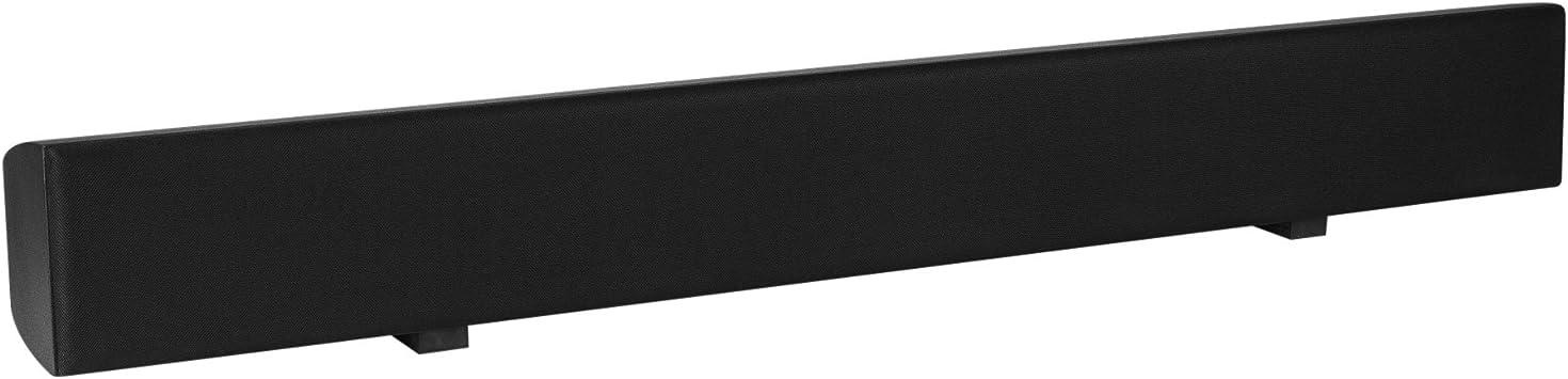 "Dayton Audio BS41 41/"" LCR Speaker Bar Black"
