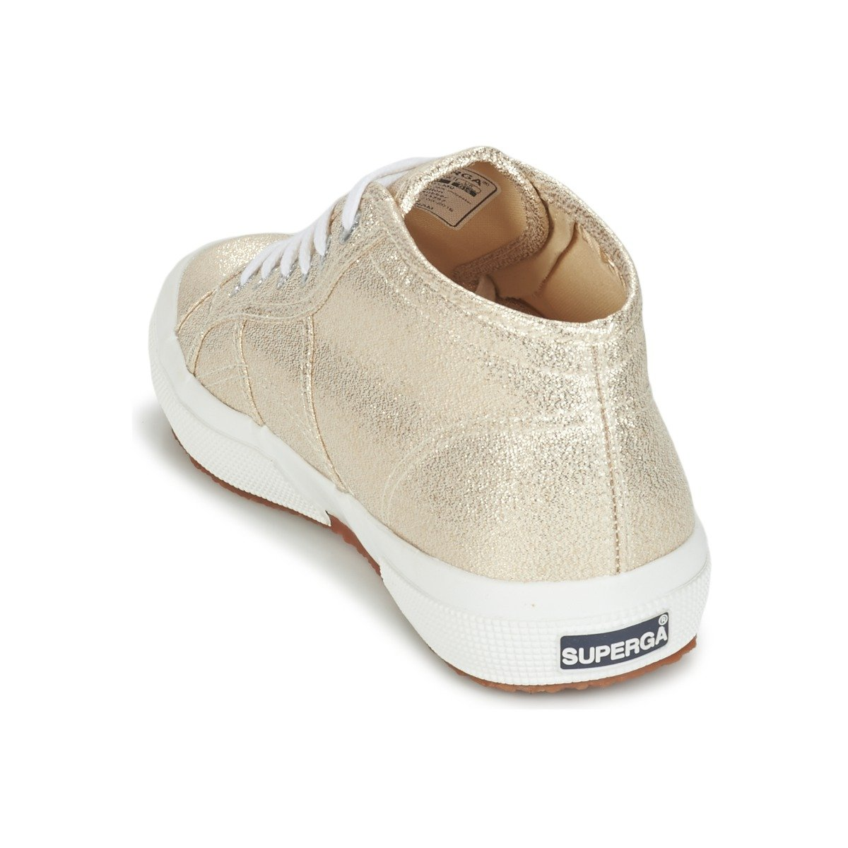 Superga Gold 2754 Lamew Damen Sneakers Gold Superga 2ed13b