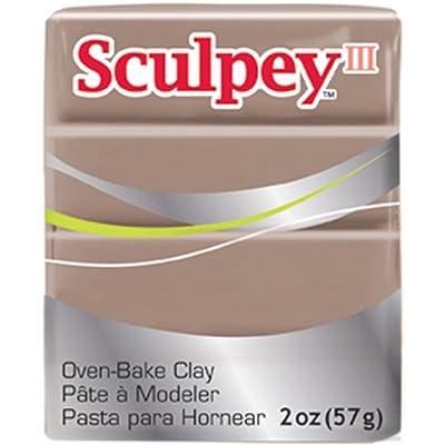 Sculpey Iii Polymer Clay 2oz-Hazelnut: Home & Kitchen
