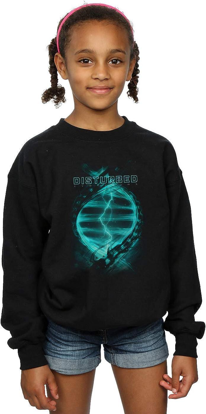 ABSOLUTECULT Disturbed Girls Evolutionary DNA Sweatshirt