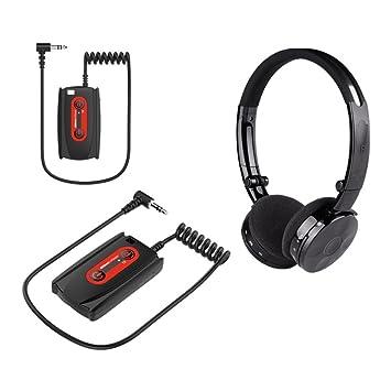 Deteknix - Detector de metal w3 auriculares inalámbricos auriculares inalámbricos auriculares con transmisor: Amazon.es: Bricolaje y herramientas
