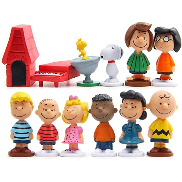 SCHROEDER Peanuts Boy CHARLIE BROWN TOY PVC Playset FIGURE Birthday CAKE TOPPER!
