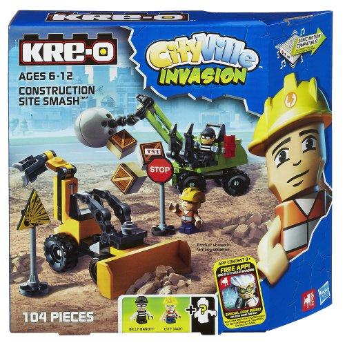 Jack Front Loader - KRE-O CityVille Invasion Construction Site Smash Set (A4912)