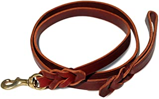 product image for Signature K9 Braided Leather Leash