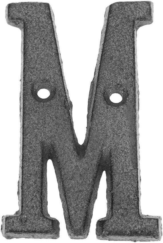 Starnearby Grand num/éro de maison en fer avec num/éro de maison pour ext/érieur 8 x 0,5 cm