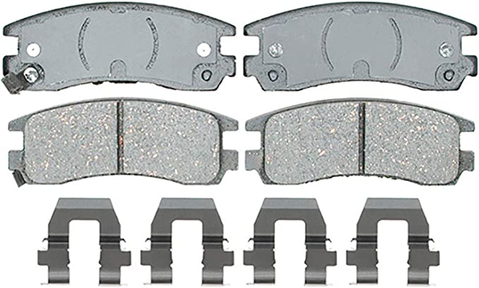 Disc Brake Pad Set-Ceramic Disc Brake Pad Rear ACDelco Advantage 14D999CHF1
