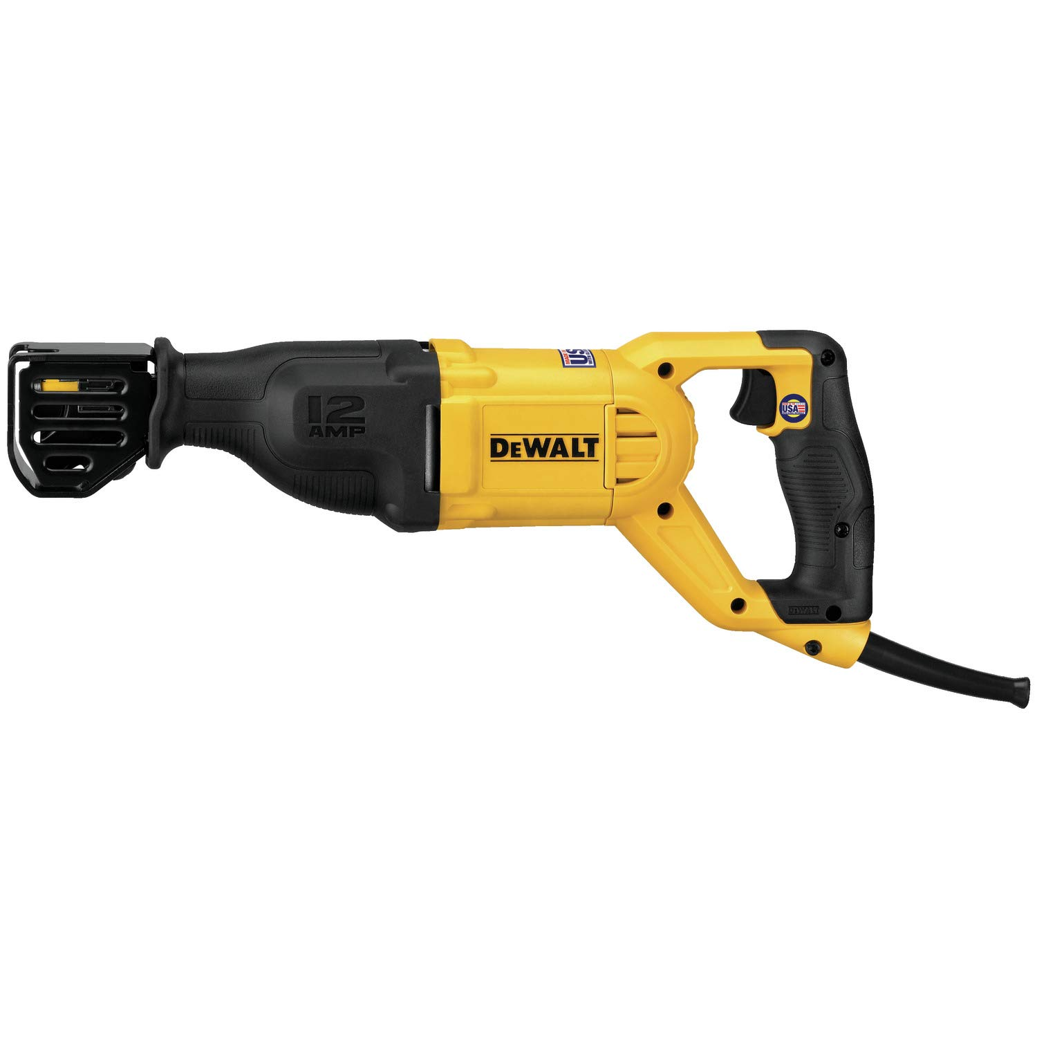 DEWALT DWE305R 12.0 Amp Reciprocating Saw Reconditioned by Manufacturer