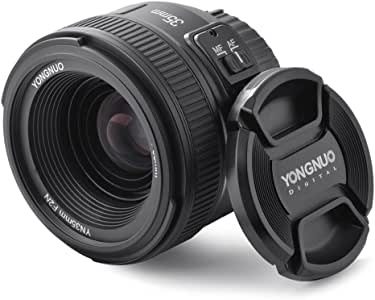 YONGNUO YN35 35mm F2.0 Gran Angular Primer de Lentes Grandes ...