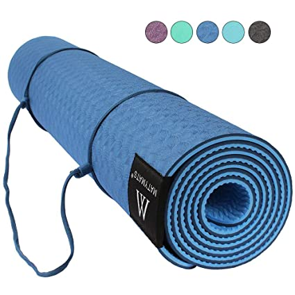 Goture Non Slip TPE Yoga Mat With Strap ,Sports Outdoor ...