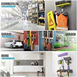 MODEAR Mop Broom Holder Wall Mounted Commercial