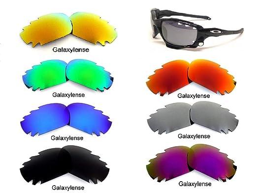 a8be8de913 Amazon.com  Galaxy Replacement Lenses For Oakley Racing Jacket ...
