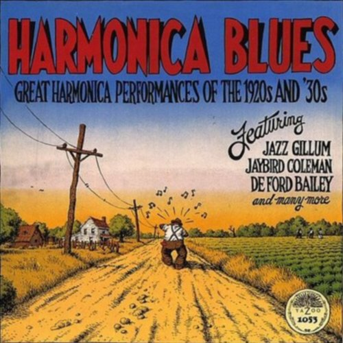 HARMONICA BLUES Great Harmonica Performances of the 1930's (180 Gram - Alfred Jazz Organ